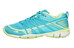 The North Face Litewave Ampere hikingschoenen Dames geel/turquoise